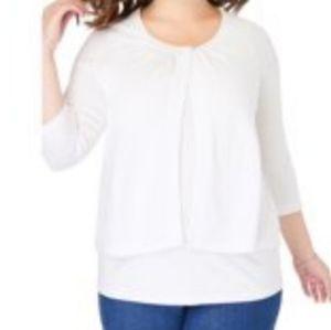 NWOT Woman Within Plus Size Shrug Cardigan